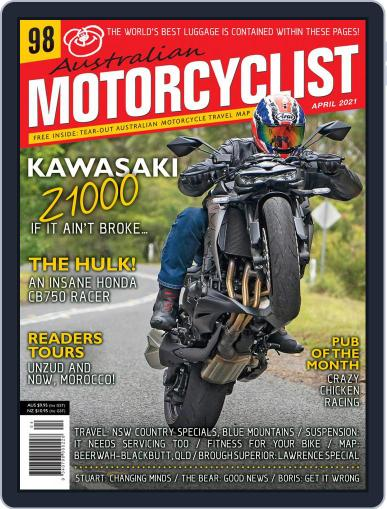 Australian Motorcyclist Magazine (Digital) April 1st, 2021 Issue Cover