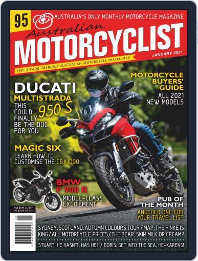 Australian Motorcyclist Magazine (Digital) January 1st, 2021 Issue Cover