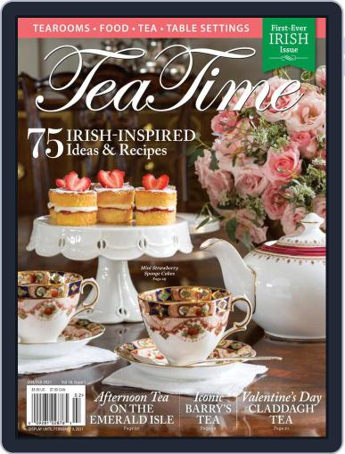TeaTime Magazine (Digital) January 1st, 2021 Issue Cover