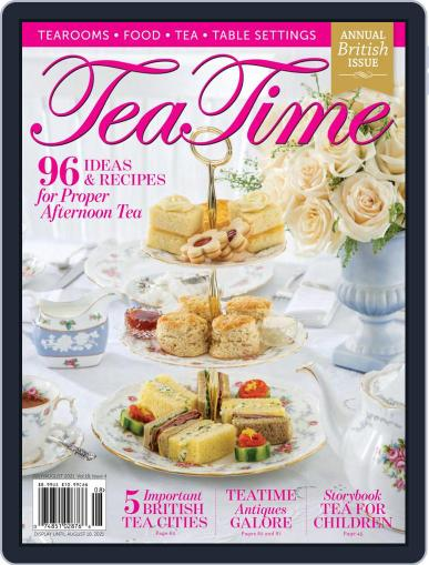 TeaTime Magazine (Digital) July 1st, 2021 Issue Cover