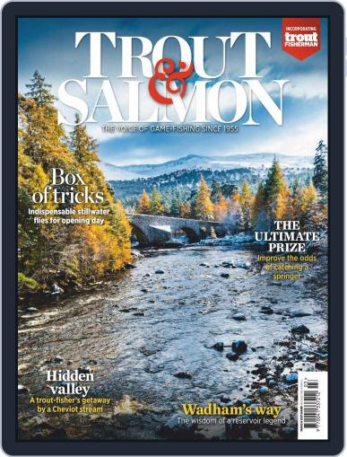 Trout & Salmon Magazine (Digital) March 1st, 2021 Issue Cover