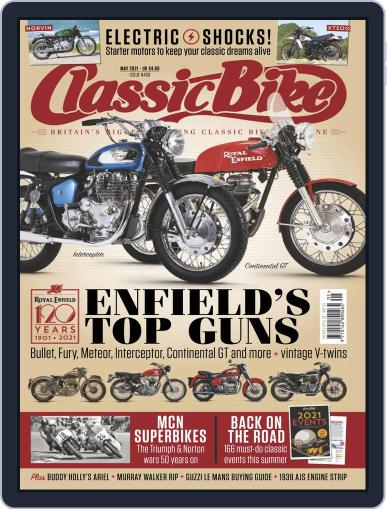 Classic Bike Magazine (Digital) April 28th, 2021 Issue Cover
