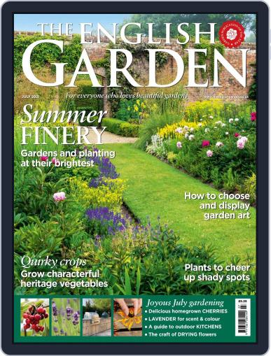 The English Garden Magazine (Digital) July 1st, 2021 Issue Cover
