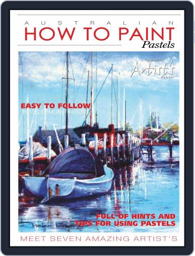 Australian How To Paint Magazine (Digital) January 1st, 2021 Issue Cover