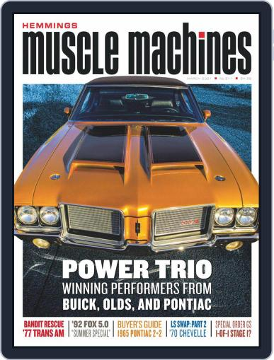 Hemmings Muscle Machines Magazine (Digital) March 1st, 2021 Issue Cover