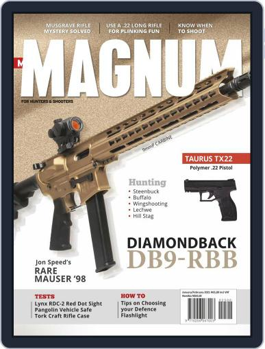 Man Magnum Magazine (Digital) January 1st, 2021 Issue Cover