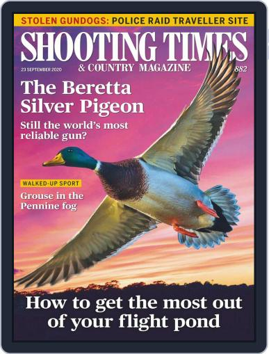 Shooting Times & Country Magazine (Digital) September 23rd, 2020 Issue Cover