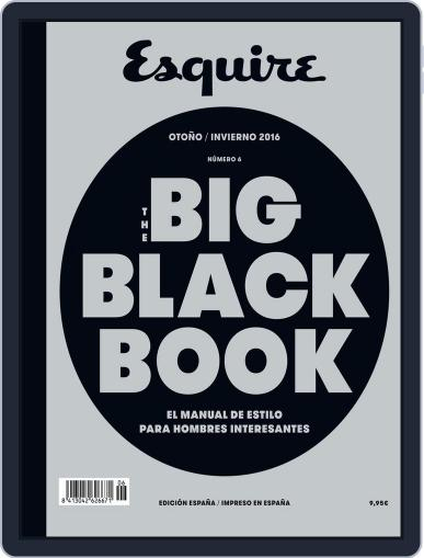 The Big Black Book-España (Digital) December 1st, 2016 Issue Cover