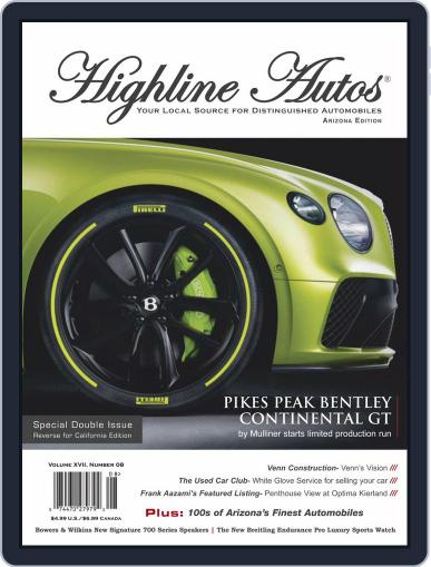 Highline Autos Magazine (Digital) August 1st, 2020 Issue Cover