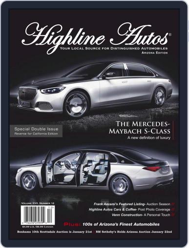 Highline Autos Magazine (Digital) December 1st, 2020 Issue Cover