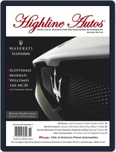 Highline Autos Magazine (Digital) November 1st, 2020 Issue Cover