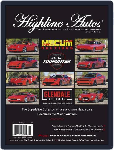 Highline Autos Magazine (Digital) January 1st, 2021 Issue Cover