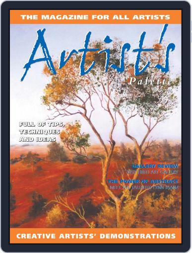 Artist's Palette Magazine (Digital) March 1st, 2021 Issue Cover