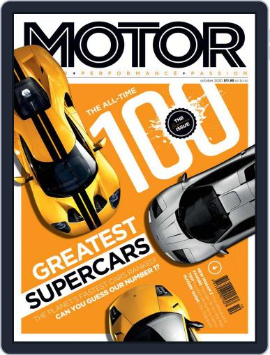 Motor Magazine Australia Magazine (Digital) October 1st, 2020 Issue Cover