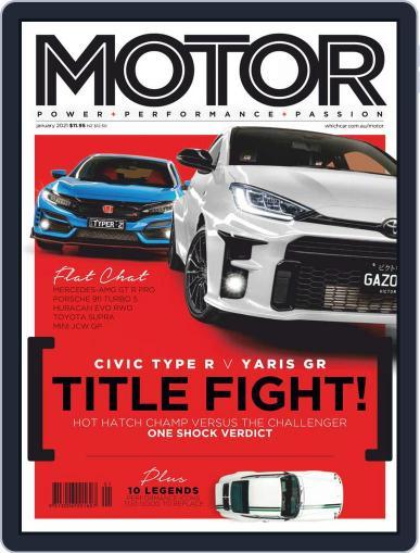 Motor Magazine Australia Magazine (Digital) January 1st, 2021 Issue Cover