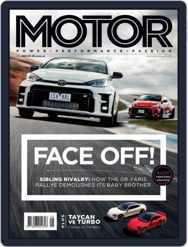 Motor Magazine Australia Magazine (Digital) May 1st, 2021 Issue Cover