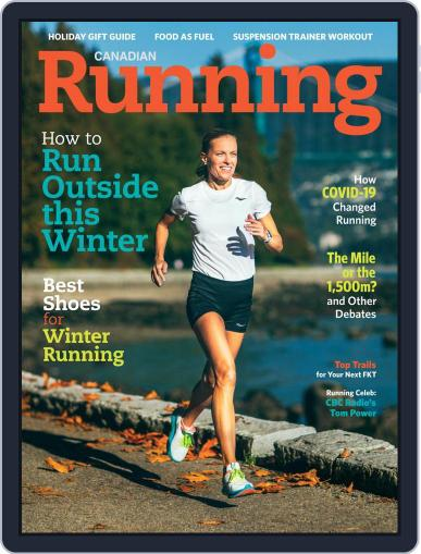 Canadian Running Magazine (Digital) November 1st, 2020 Issue Cover