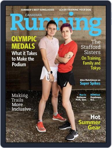 Canadian Running Magazine (Digital) July 1st, 2021 Issue Cover