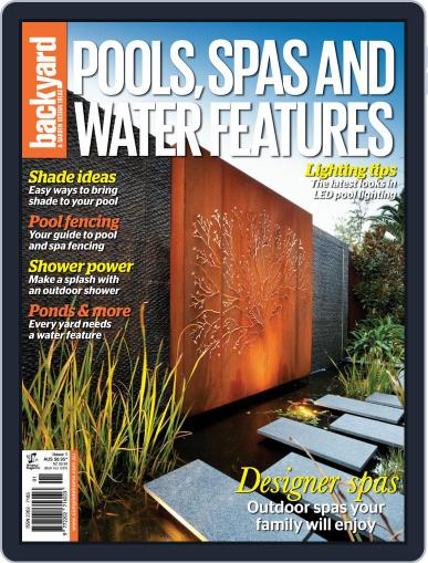 Pools, Spas & Water Features October 26th, 2014 Digital Back Issue Cover