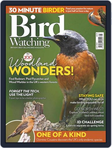 Bird Watching Magazine (Digital) May 1st, 2021 Issue Cover