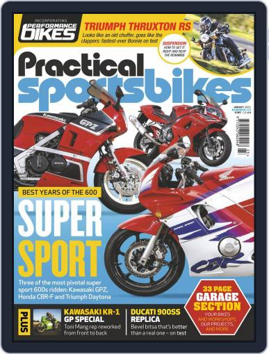 Practical Sportsbikes Magazine (Digital) December 9th, 2020 Issue Cover