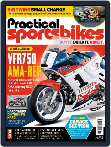 Practical Sportsbikes Magazine (Digital) April 14th, 2021 Issue Cover