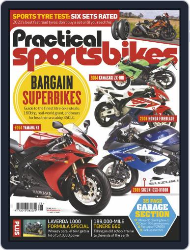 Practical Sportsbikes Magazine (Digital) May 12th, 2021 Issue Cover