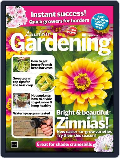 Amateur Gardening Magazine (Digital) May 15th, 2021 Issue Cover