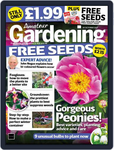 Amateur Gardening Magazine (Digital) October 30th, 2021 Issue Cover