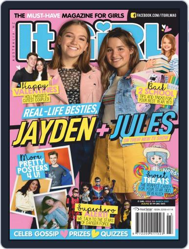 It GiRL Magazine (Digital) March 1st, 2021 Issue Cover