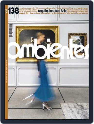 Revista Ambientes Magazine (Digital) December 4th, 2020 Issue Cover
