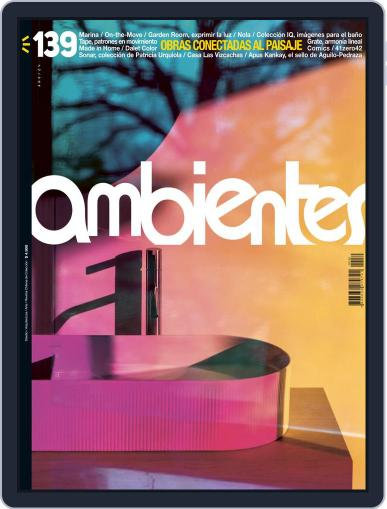 Revista Ambientes Magazine (Digital) February 1st, 2021 Issue Cover