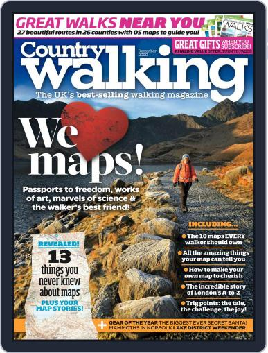 Country Walking Magazine (Digital) December 1st, 2020 Issue Cover