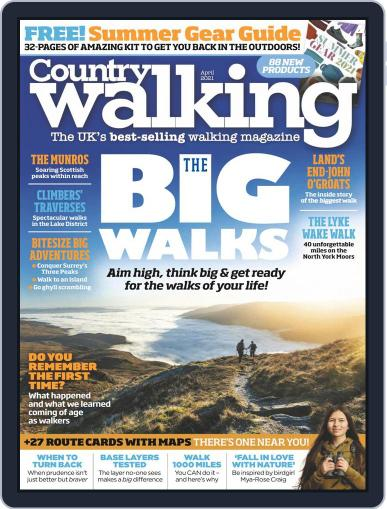 Country Walking Magazine (Digital) April 1st, 2021 Issue Cover