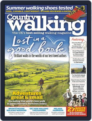 Country Walking Magazine (Digital) August 1st, 2021 Issue Cover