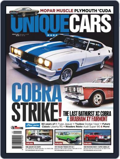 Unique Cars Australia Magazine (Digital) February 4th, 2021 Issue Cover