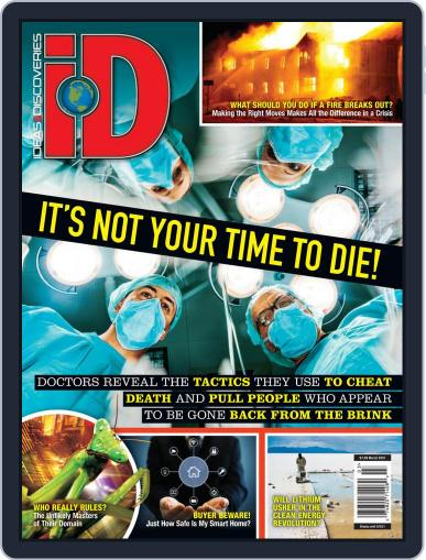 iD (Ideas & Discoveries) Magazine (Digital) March 1st, 2021 Issue Cover
