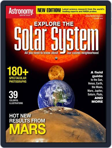 Explore The Solar System November 9th, 2012 Digital Back Issue Cover