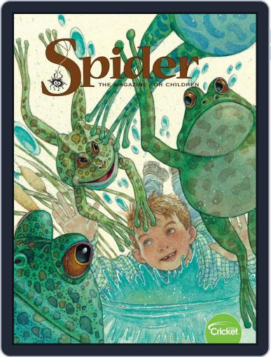 Spider Magazine Stories, Games, Activites And Puzzles For Children And Kids Magazine (Digital) September 1st, 2020 Issue Cover