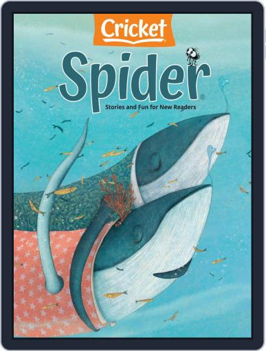 Spider Magazine Stories, Games, Activites And Puzzles For Children And Kids Magazine (Digital) February 1st, 2021 Issue Cover