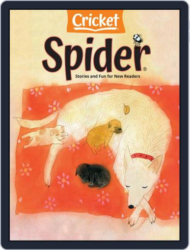 Spider Magazine Stories, Games, Activites And Puzzles For Children And Kids Magazine (Digital) May 1st, 2021 Issue Cover