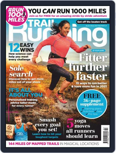 Trail Running Magazine (Digital) February 1st, 2021 Issue Cover