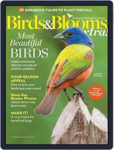 Birds and Blooms Extra Magazine (Digital) September 1st, 2020 Issue Cover