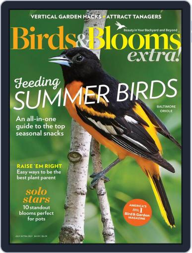 Birds and Blooms Extra Magazine (Digital) July 1st, 2021 Issue Cover