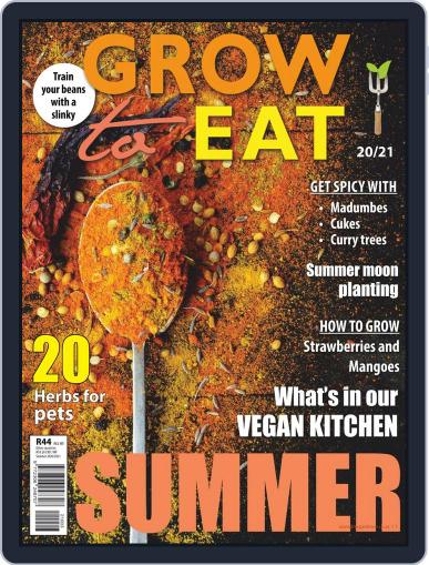 Grow to Eat Magazine (Digital) November 5th, 2020 Issue Cover