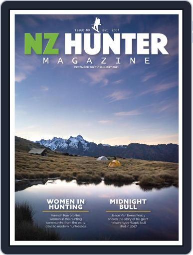 NZ Hunter Magazine (Digital) December 1st, 2020 Issue Cover