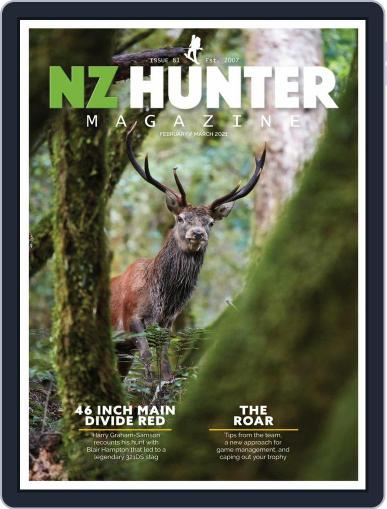 NZ Hunter Magazine (Digital) February 1st, 2021 Issue Cover