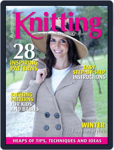 Australian Knitting Magazine (Digital) April 1st, 2021 Issue Cover