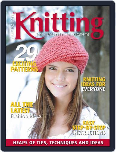 Australian Knitting Magazine (Digital) January 1st, 2021 Issue Cover