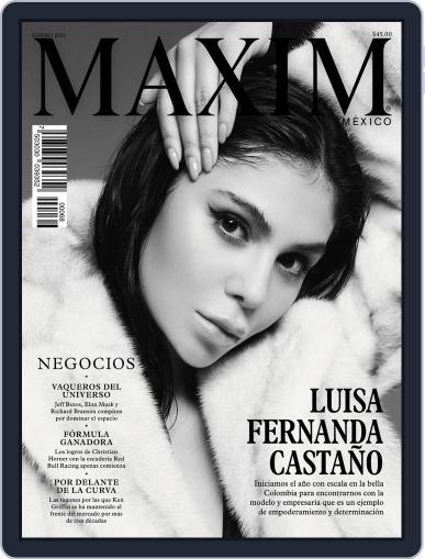 Maxim México Magazine (Digital) January 1st, 2021 Issue Cover